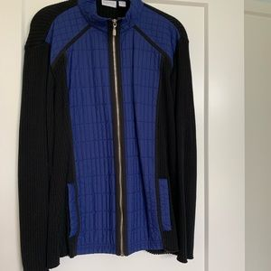 Zenergy by Chico's Quilted Zip Up Jacket